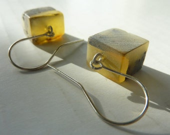 FREE SHIPPING amber  earrings