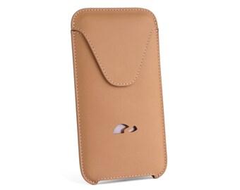 iPhone 6Plus Leather Case - iPhone 6 Plus Sleeve - Slim Case iPhone 6 Plus - Sleeve Case - Natural Leather