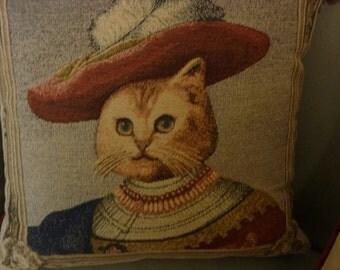 Fancy Cat in Tapestry