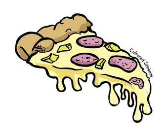 Cheesy Slice Sticker