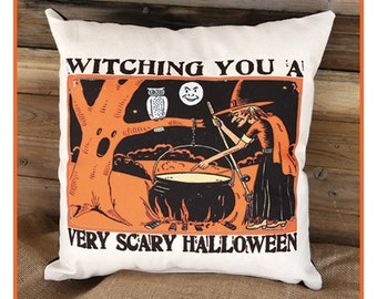 Fun Halloween Pillow