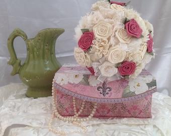 Ivory Vintage Handmade Bouquet