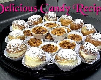 Delicious Candy Recipes-334 Mouth Watering Candy Recipes - Ebook Pdf - digital download- Private Label Rights