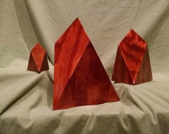 "12"" Wood Chestahedron"