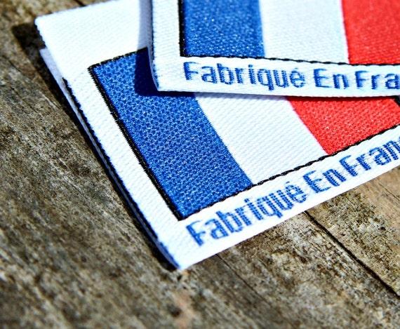 Fabrique en france coupe avant et tiquettes tiss es pli es - Televiseur fabrique en france ...