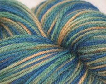 "Wool/Nylon Sock Yarn Hand-painted ""Cerrid"""