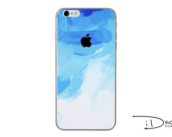 iPhone decal iPhone skin iPhone sticker iPhone 7 decal iPhone 7 plus decal iPhone 6/6s plus decal iPhone 6/6s skin iPhone SE sticker blue