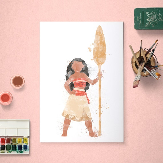 Disney Moana Awesome Art Images