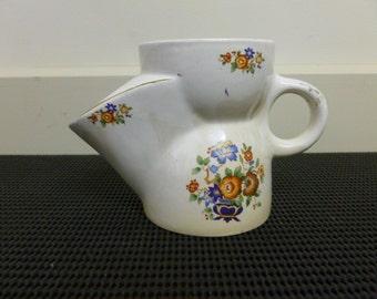 Vintage Retro Collectable 1940's Royal Art Pottery Longton C Shaving Mug/Pot/Cup/Jar  #776 Made In England