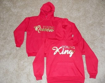 KING AND QUEEN Hoodie Set