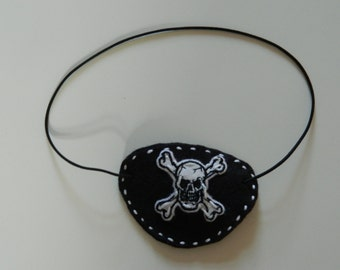 Kids Sew your own Pirate Eye Patch Kit Sewing Childrens Set Age 5+ FANCY DRESS Childs Learn to Sew