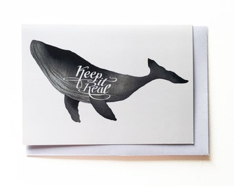 Keep It Real - Greeting Card
