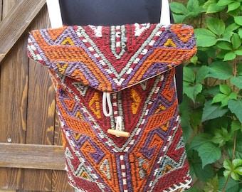 VINTAGE KILIM BAG......Turkish handmade
