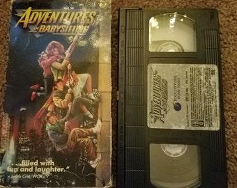 Adventures in Babysitting VHS