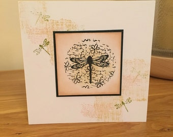 Dragonfly Blank All Occasions Card