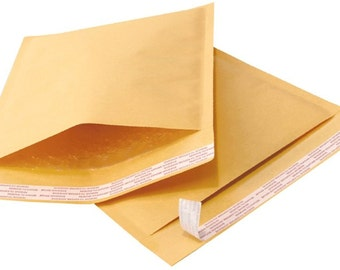 25 8.5x12 Kraft Bubble Mailers Padded Envelope Shipping Bags