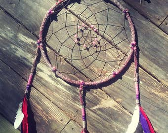 12 inch dreamcatcher etsy - Hemp rope craft ideas an authentic rustic feel ...