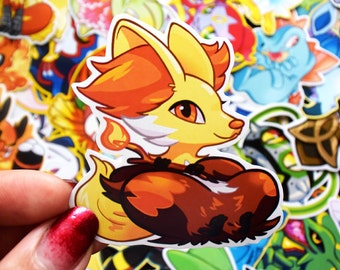Delphox Sticker