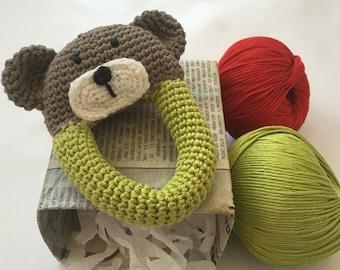 Handmade Bear rattle