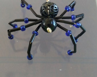 Black beaded spider