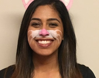 Bunny Face Paint Kit