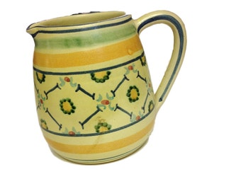French / Italian Country Decorative Pitcher - Made in Italy