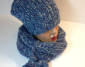 women hat and scarf for winter weather
