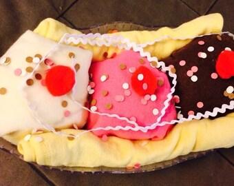 Banana Split Baby Shower Gift