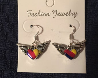 LUVheartart Wing Earrings