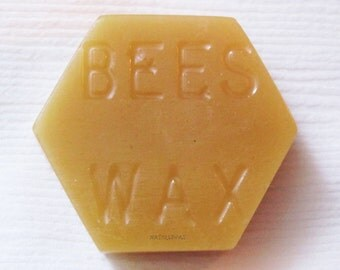 2 Beeswax Blocks, Filtered Bees wax, Colorado Beeswax, Candle Wax, Sewing Beeswax, Natural Wax Supply, Colorado Beeswax, Bulk Natural Wax