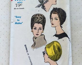 1960s Vogue Hat Pattern No. 6121