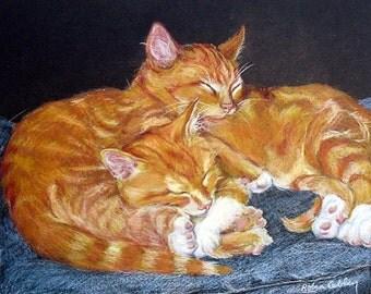 Custom Cat Portrait Painting - Custom Pet Portrait - Paint My Cat