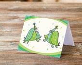 Turtle Birthday Party Happy Birthday funny Greeting Card