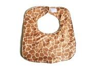 Custom Order for Carma K. Only - Baby Boy Giraffe Bib, Animal Print Bib