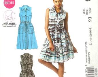 McCall's 6506 - Plenty by Tracy Reese CLASSIC SHIRTDRESS  - Sewing Pattern - Sizes 8-10-12-14-16 - UNCUT