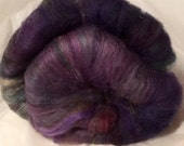 MOONGAZING-wool silk batts 4 ozs