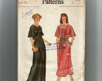 Vogue Misses' Dress and Belt Pattern 7220