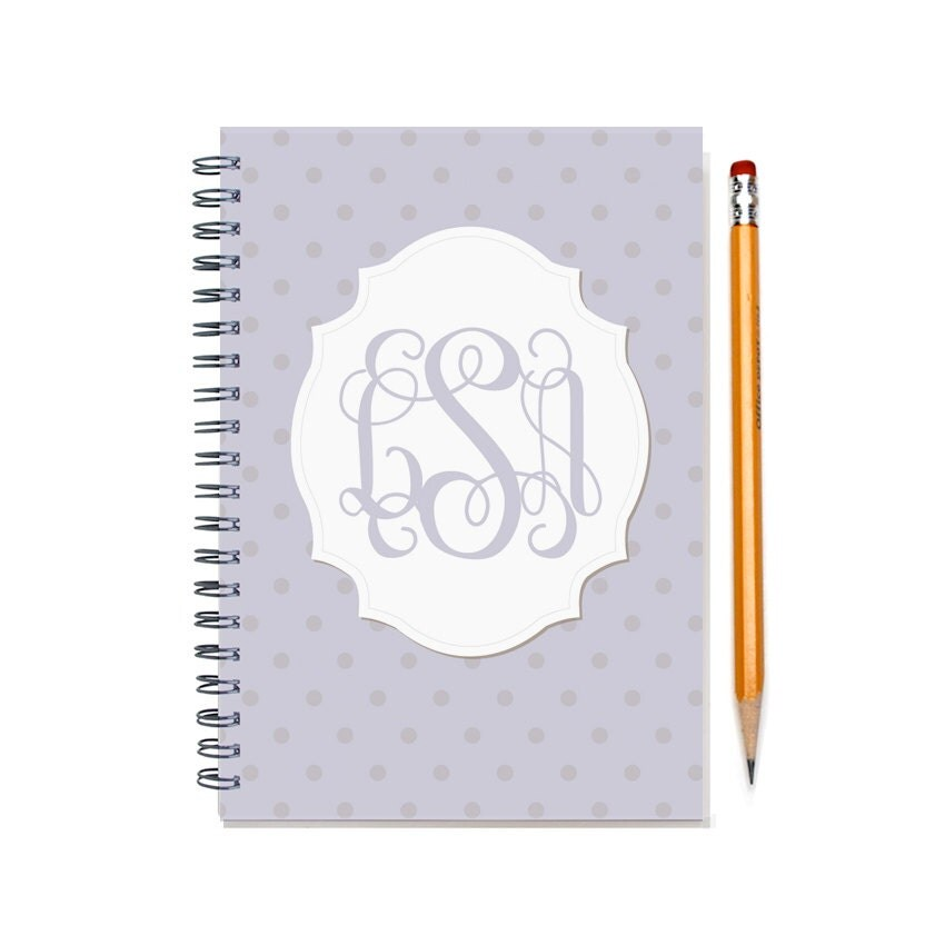 2017 2018 Monthly Planner Book Monogram Calendar 12 or 24