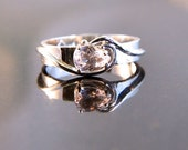 Marylin - Morganite gemstone ring