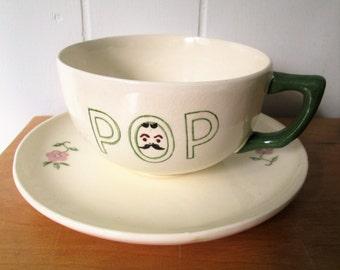 vintage pop large mug