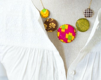 The Ikat Statement Necklace