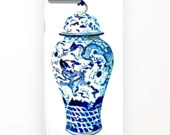 GINGER JAR NO 7 Cover iPHONE & Galaxy - 2 Styles