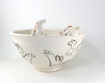 double bunny bowl