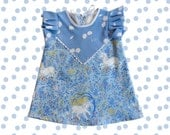 Unicorn print baby toddler child dress Supayana