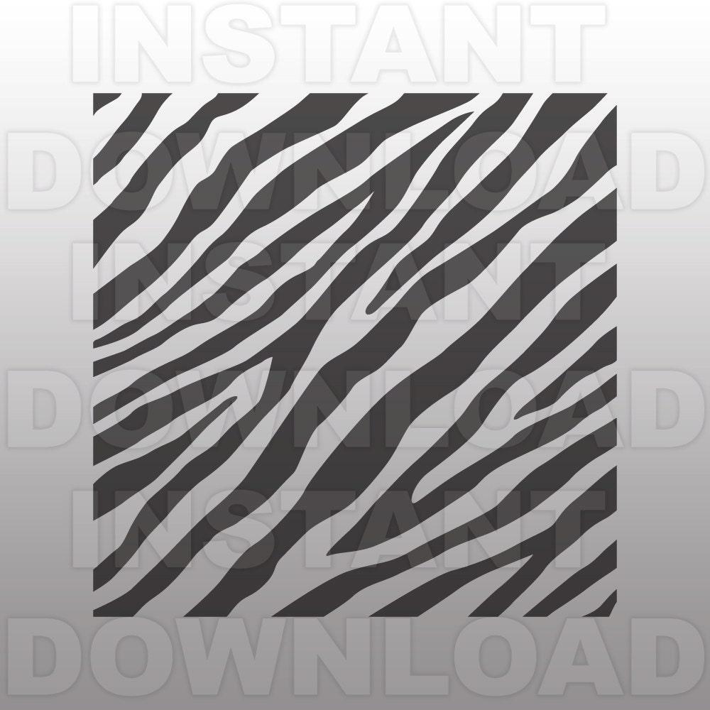 Zebra Stripes Svg File Zebra Print Svg File Zebra Pattern