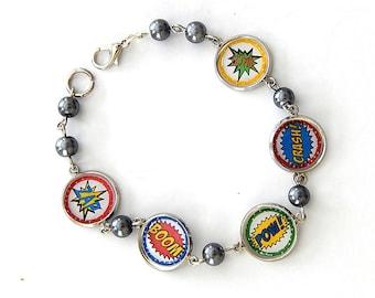 Boom Pow Crash Bracelet