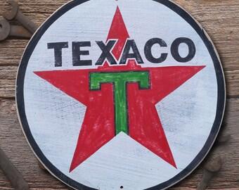 Texaco Gas Sign