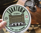 Corktown sticker