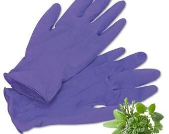 Pair of Powder-Free Nitrile Gloves