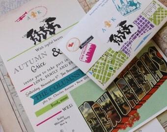 Seal and Send Wedding Invitation (New Orleans, Louisiana) - Design Fee